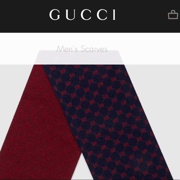 c29df436be Authentic NWT GUCCI GG alpaca wool scarf NWT